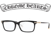 CHROME HEARTS クロムハーツ FUN HATCH BLACK/GOLD メガネ