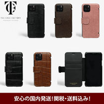 THE CASE FACTORY iPhone 11 pro 手帳型レザーケース