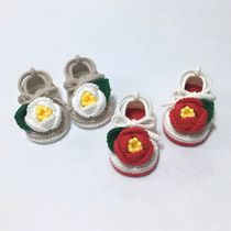 [DEAR MY BABY] CAMELLIA FLOWER SHOES CLIP BABY 3 COLOR