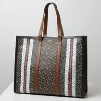 BURBERRY トートバッグ 総柄 鞄 8021488