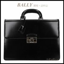 *BALLY*Sapeis Leather Briefcase 関税/送料込