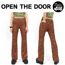 OPEN THE DOOR(オープンザドア) パンツ OPEN THE DOOR bohemian pants (2 color) YI507 追跡付