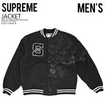 [国内即発] SUPREME NEW ERA MLB VARSITY JACKET 即納