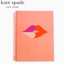 【kate spade】Heart lips spiral notebook【国内配送】