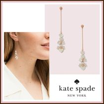 kate spade☆ precious pansy linear earrings ☆送料込