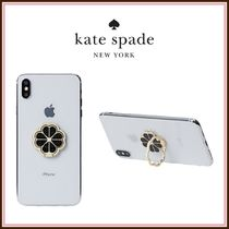 kate spade☆ glitter spade ring stand スマホリング ☆送料込