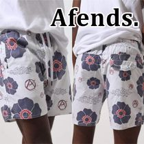 Afends★Baywatch Check Your Head ボードショーツ★