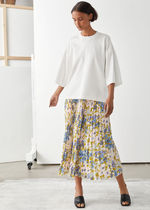 & Other Stories新作☆Pleated Midi Skirt