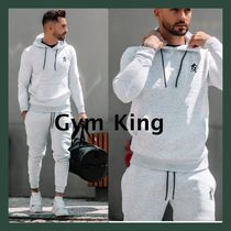 gymking*メンズ*ロゴパーカーショーツセットアップ送関税込み