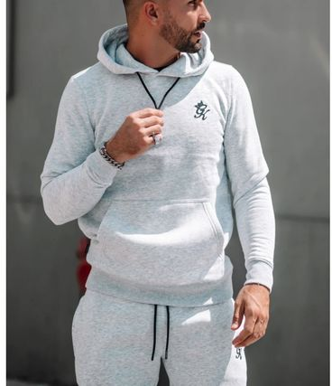 Gym King セットアップ gymking*メンズ*ロゴパーカーショーツセットアップ送関税込み(6)