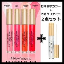 【Too Faced】】Lip Injection Extreme選べるグロス+透明ミニ付