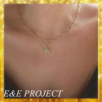 E and E PROJECT(イーアンドイープロジェクト) ネックレス・ペンダント 【送関込・国内発送】E&E PROJECT Chain & Discネックレスセット