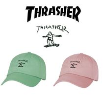 【THRASHER】Gonz Old Timer CAP GREEN&PINK