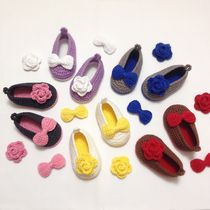 [DEAR MY BABY] KNITTING FLOWER BABY SHOES (23 X 23 COLORS)