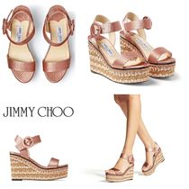 VIP SALE!!【JIMMY CHOO】ABIGAIL 100♪ウェッジサンダル♪