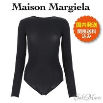 ◆MaisonMargiela◆Black stretch nylon body