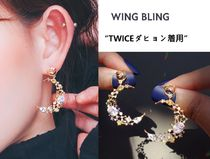 wing bling(ウィングブリン) ピアス WING BLING★TWICEダヒョン着用★LUNA EFFECT イヤリング