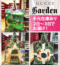 GUCCI グッチ ガーデン コラボ トートバックcanvas Menagerie