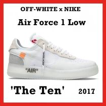 OFF-WHITE x NIKE Air Force 1 Low 'The Ten' 2017 AW FW 17