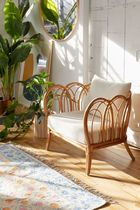 大人気《URBAN OUTFITTERS》Melody Rattan Chair ラタンチェアー