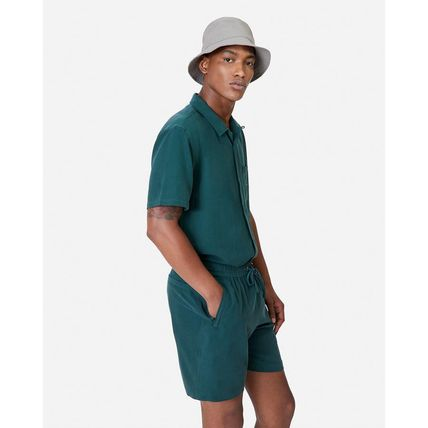 KITH NYC セットアップ 新作★Kith セットアップ CAMP COLLAR SILK COTTON SHIRT Short(2)