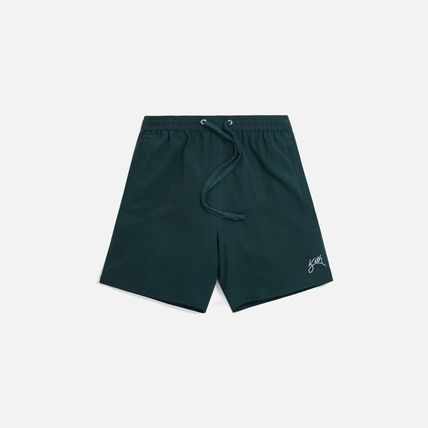 KITH NYC セットアップ 新作★Kith セットアップ CAMP COLLAR SILK COTTON SHIRT Short(6)