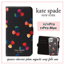 【国内発送】spencer cherries iphone magnetic wrap folio case