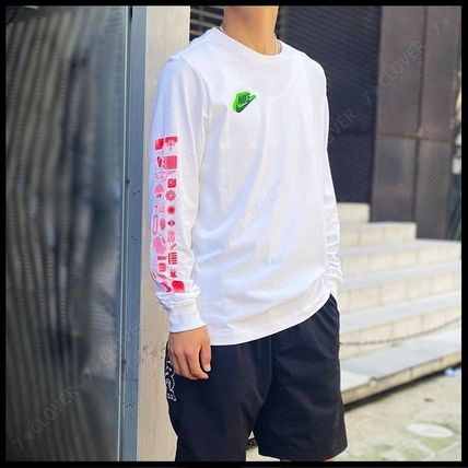 Nike Tシャツ・カットソー 国内発送・正規品★ナイキ NIKE★MEN'S NSW HBR WORLDWIDE L/S T(2)