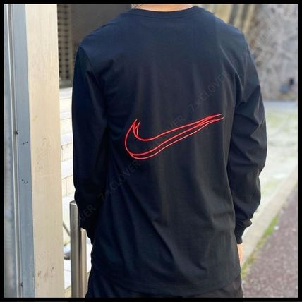 Nike Tシャツ・カットソー 国内発送・正規品★ナイキ NIKE★MEN'S NSW HBR WORLDWIDE L/S T(6)