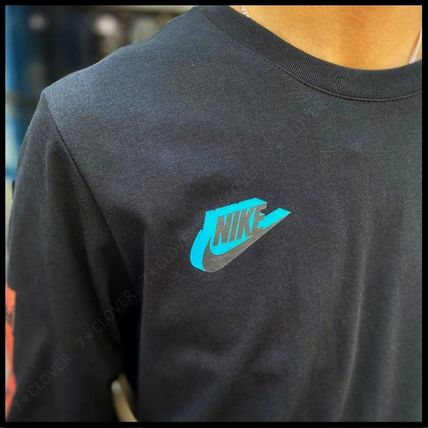 Nike Tシャツ・カットソー 国内発送・正規品★ナイキ NIKE★MEN'S NSW HBR WORLDWIDE L/S T(7)