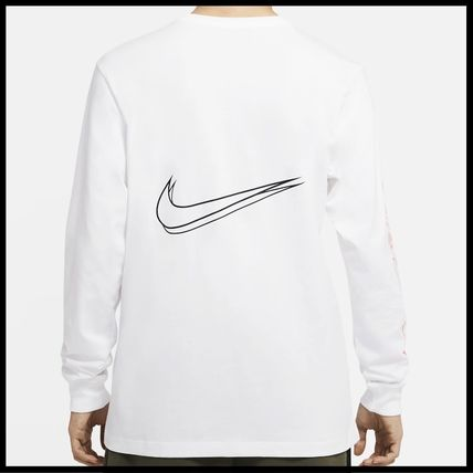Nike Tシャツ・カットソー 国内発送・正規品★ナイキ NIKE★MEN'S NSW HBR WORLDWIDE L/S T(9)
