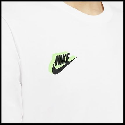 Nike Tシャツ・カットソー 国内発送・正規品★ナイキ NIKE★MEN'S NSW HBR WORLDWIDE L/S T(10)