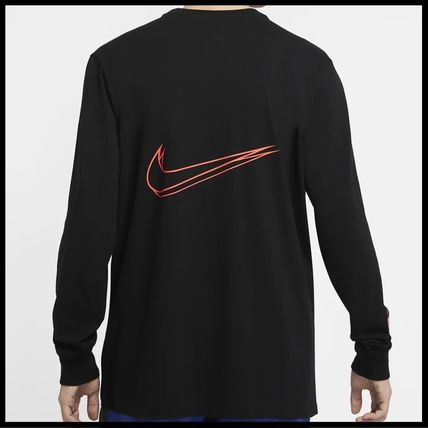 Nike Tシャツ・カットソー 国内発送・正規品★ナイキ NIKE★MEN'S NSW HBR WORLDWIDE L/S T(15)