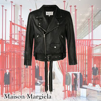 Maison Margiela Leather Double Zip Jacket COOLでWILD