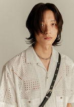 [ANDERSSON BELL] ANDREA EMBROIDERY COTTON シャツ 2色