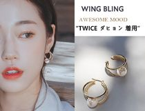 WING BLING★TWICE ダヒョン 着用★AWESOME MOOD イヤリング