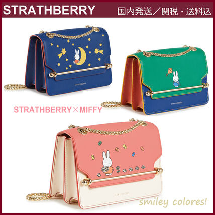 STRATHBERRY ショルダーバッグ・ポシェット 【新作 限定品!】STRATHBERRY×Miffy☆EAST/WEST MINI