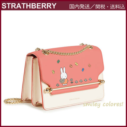 STRATHBERRY ショルダーバッグ・ポシェット 【新作 限定品!】STRATHBERRY×Miffy☆EAST/WEST MINI(2)