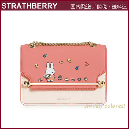 STRATHBERRY ショルダーバッグ・ポシェット 【新作 限定品!】STRATHBERRY×Miffy☆EAST/WEST MINI(3)