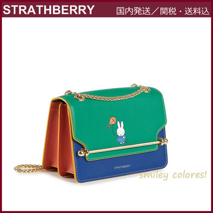 STRATHBERRY ショルダーバッグ・ポシェット 【新作 限定品!】STRATHBERRY×Miffy☆EAST/WEST MINI(10)