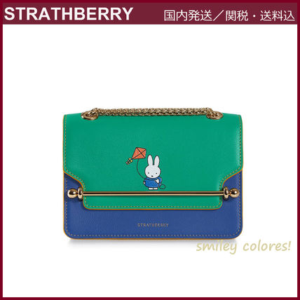 STRATHBERRY ショルダーバッグ・ポシェット 【新作 限定品!】STRATHBERRY×Miffy☆EAST/WEST MINI(11)