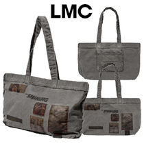 LMC(エルエムシー) トートバッグ ★2020SS★LMC★THE SHINING OVERDYED APPLIQUE LARGE TOTE BAG