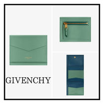 GIVENCHY エッジ Wallet with 3ドア in 2トーン leather Ladies
