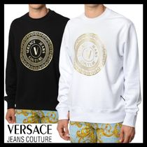 AW20【Versace Jeans Couture】ゴールド ロゴ スウェットシャツ