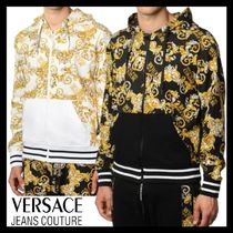 AW20【Versace Jeans Couture】バロッコ ジップ付 フーディ 2色