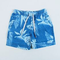 BANKS JOURNAL::BLOOM CHAMBRAY WALKSHORT:28[RESALE]