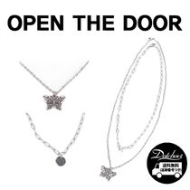 OPEN THE DOOR butterfly set necklace YI534 追跡付