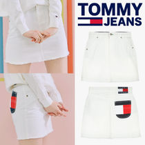 ◆Tommy Hilfiger◆COTTON FLAG POCKET MINI SKIRT◆送料無料◆