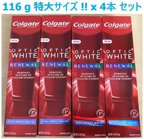 特大サイズ 116g x 4本セット !! Colgate Optic White Renewal