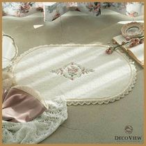 ◆DECO VIEW◆ MARIANNE FLOWER LACE BATH MAT バスマット